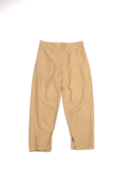 ‪Russian army sleeping cotton pants‬ ‪(beige)