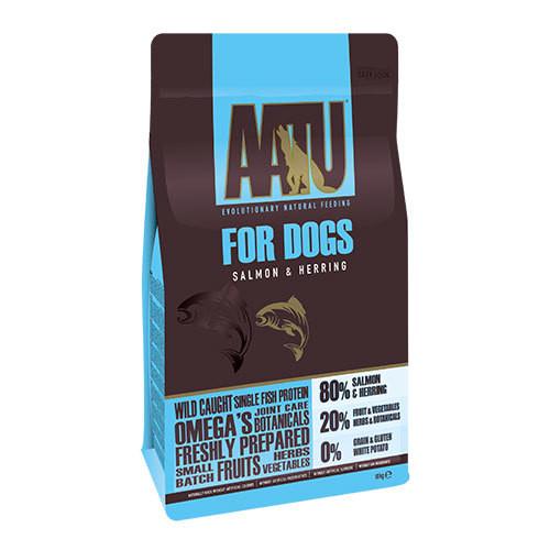 ヒューマングレードの原材料【ドッグフード総合栄養食】AATU アートゥー80/20サーモン 10kg