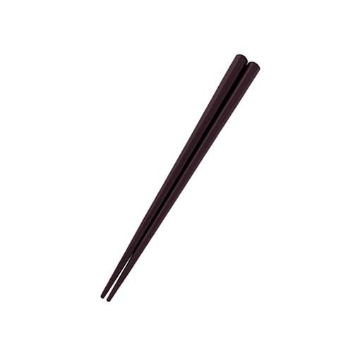 【OGH-1-CH】六角形16cm箸 チョコ