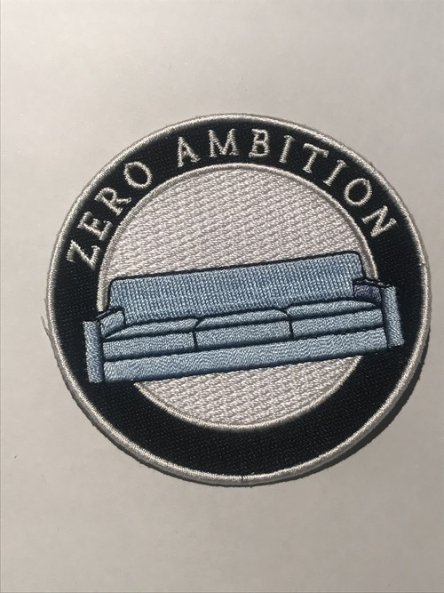 "STRIKEGENTLY.CO""Zero Ambition Patch"""