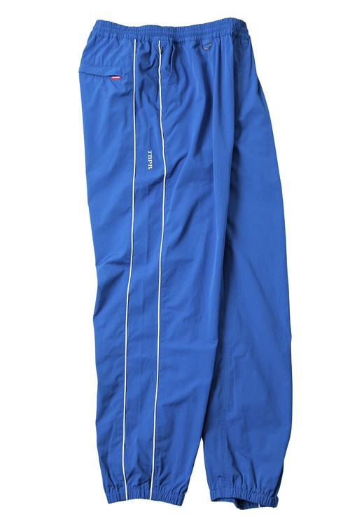 TIGHTBOOTH PIPING TRACK PANTS BLUE タイトブース トラックパンツ