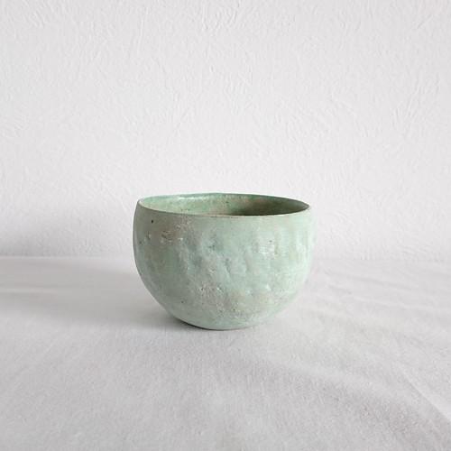 ◆NEW◆水谷智美 炻器 丸カップ/若草