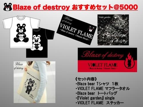 BLAZE OF DESTROY おすすめセット