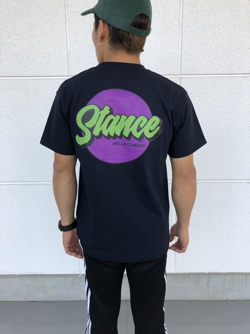STANCE circle tee/Navy