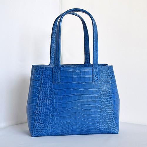 【オーダーメイド】青いハンドバッグ