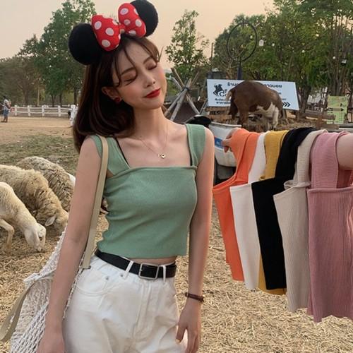 【トップス】韓国風ファッション清新着瘦せスリムキャミソールベスト