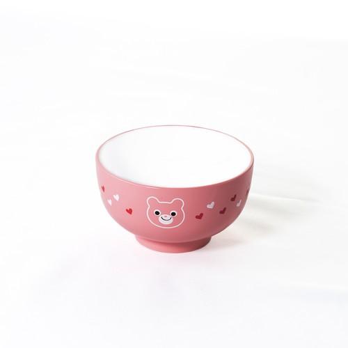 ハグミ― レンジ汁碗 クマ