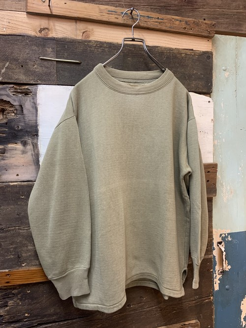 70's hungarian army damege sweat shirt