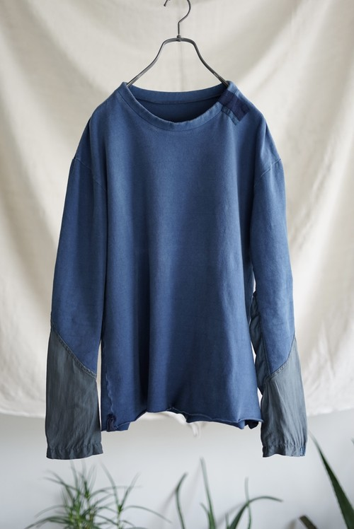 <SOLD OUT>Casey Vidalenc - Patchwork Silk Sleeve with SASHIKO Cut & Sewn