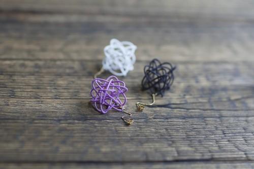 【SPIRO】Lissajous earrings  リサージュ/ピアス1セット