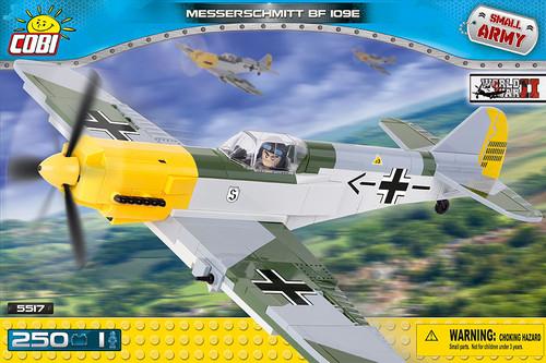 COBI #5517 メッサーシュミット Bf109E