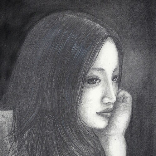 Painting「夜(Night)」
