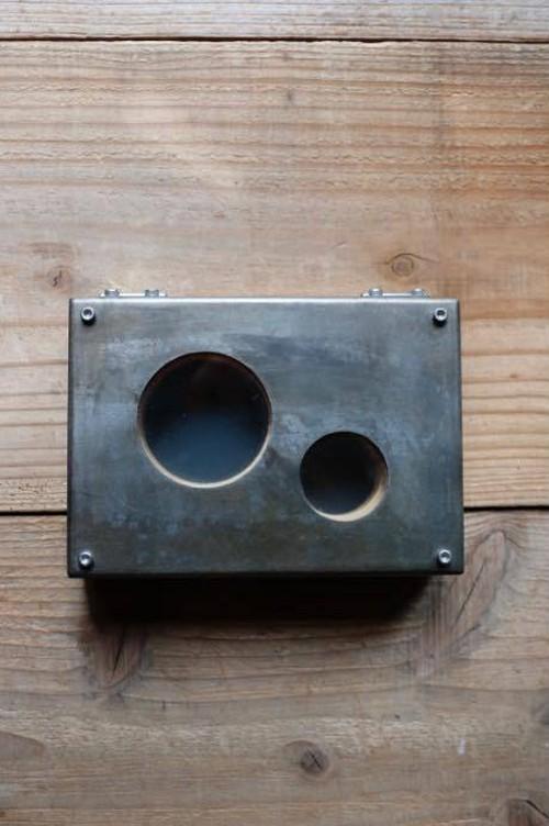 sale オープンスティールボックスsteel box small / cr-17005