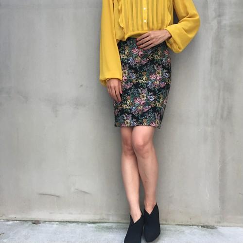 80's Gobelin mini skirt