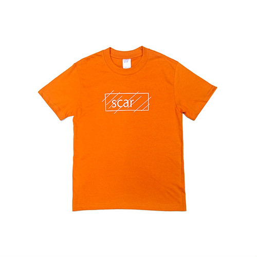 scar /////// OG KIDS TEE (Orange) 6.2oz (150サイズ)