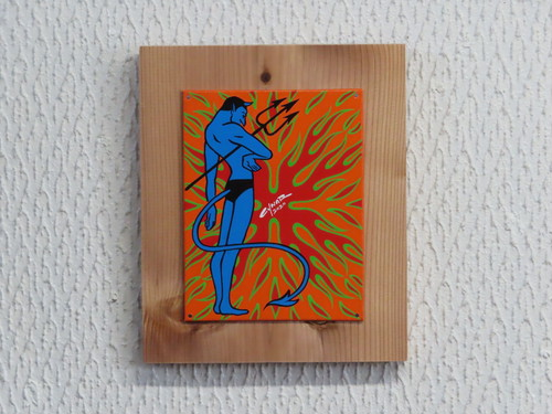 【アートピース】BLUE DEVIL