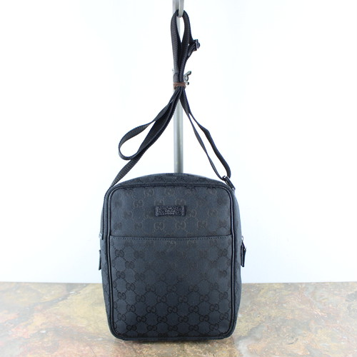 .GUCCI GG PATTERNED SHOULDER BAG MADE IN ITALY/グッチGG柄ショルダーバッグ2000000048536
