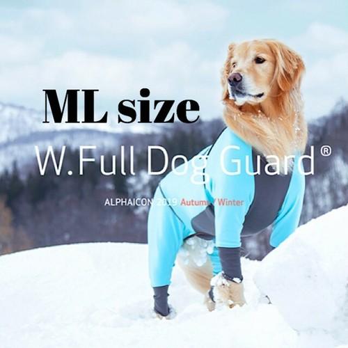 【ALPHAICON】 ダブルフルドッグガード MLサイズ  アルファアイコン W. Full Dog Guard ML