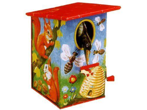 バーディー貯金箱(ブリキのおもちゃ 貯金箱 goldon ドイツ製 )