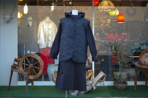 Unisex's / HOODED JACKET with padding vest
