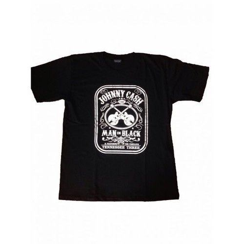 ジョニー・キャッシュ Johnny Cash MAN IN BLACK プリントTシャツ