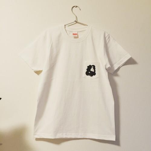 【SALE】shimanagashi pocket tee (white)