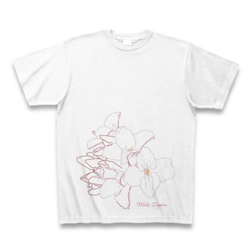 ジンチョウゲ フラワーイラストTシャツ