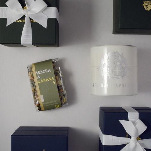 SENCHA Á L'ANANAS/茶筒入りギフトセット