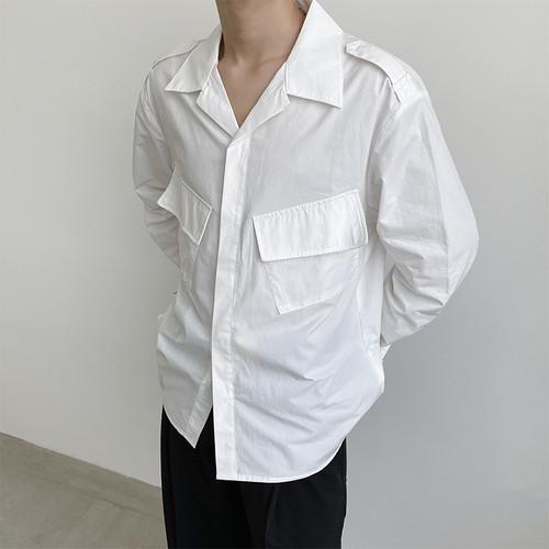 ダブルフラップポケットシャツ BL5774