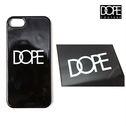 大好評により再入荷!DOPE COUTURE classic logo iphone 5 snap case