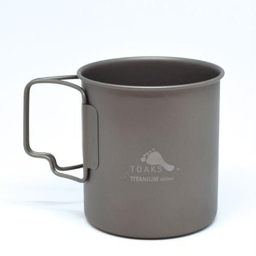 TOAKS(トークス)TITANIUM CUP 450ml チタニウムカップ