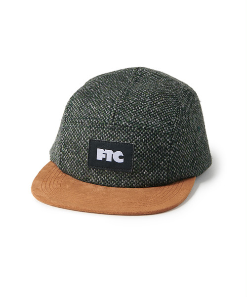 FTC / TWEED CAMP CAP -OLIVE-
