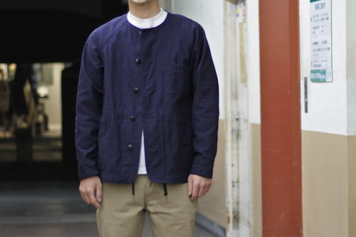 【maillot】military n/c utility JK col.NAVY
