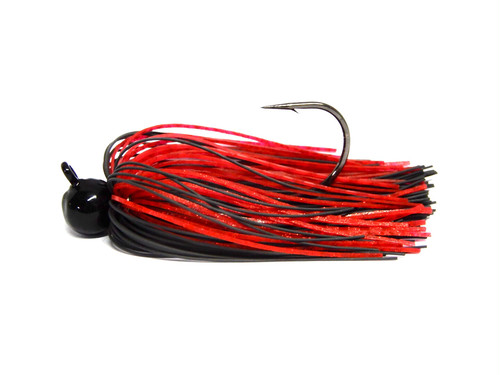 LOST MIND / TOMO JIG 1/4oz:Hook 4/0 [black/red]