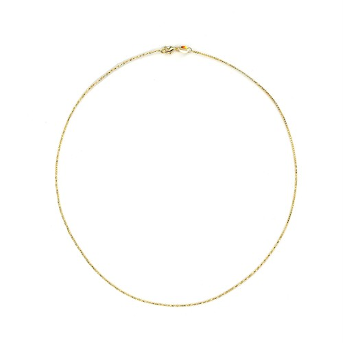 【GF1-88】16inch gold filled chain necklace