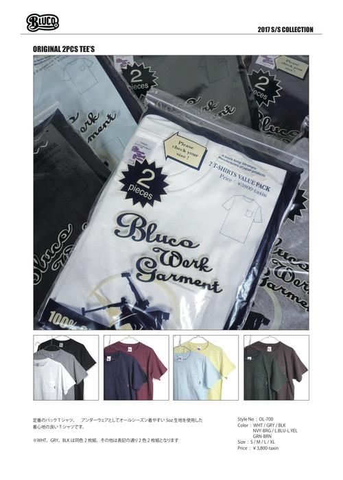BLUCO /  ORIGINAL 2PCS TEE'S
