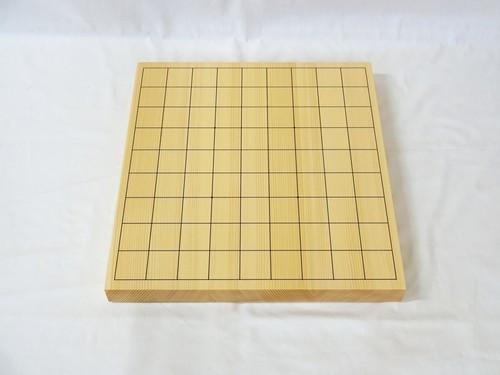 将棋盤 新かや 1寸 接合卓上盤