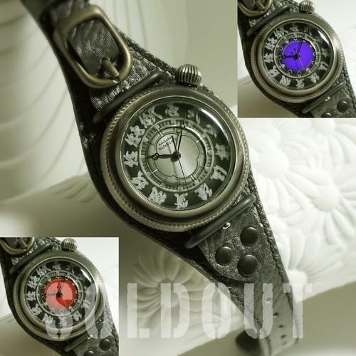 腕時計「NUBATAMA(夜干玉)」TYPE-22