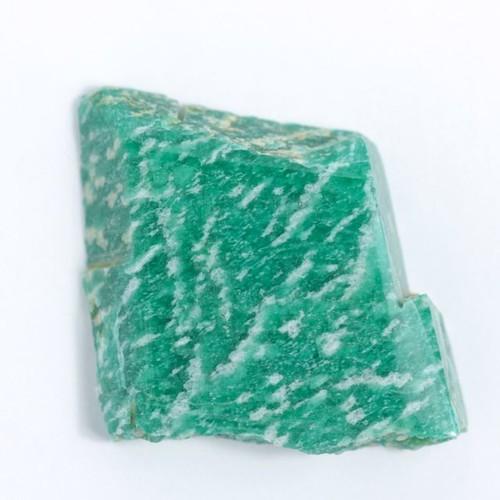 天然アマゾナイト原石19.8g(ブラジル産)研磨用☆天河石