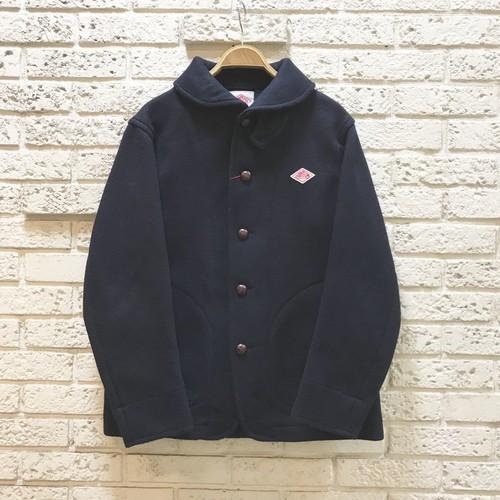 DANTON  『Wool Mosser Round Collar Jacket(JD-8237)』