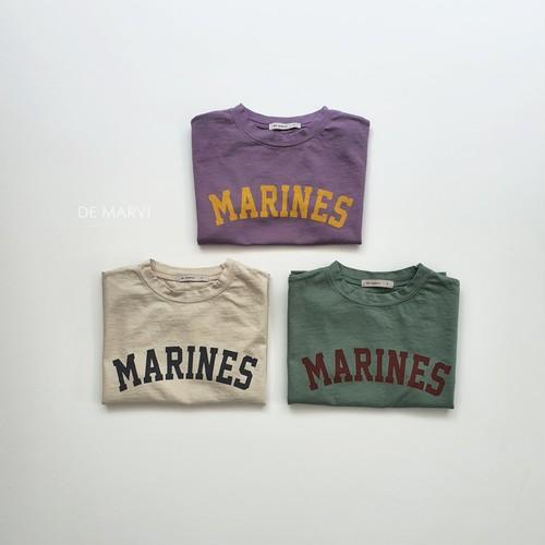 マリンロゴTシャツ【即納】
