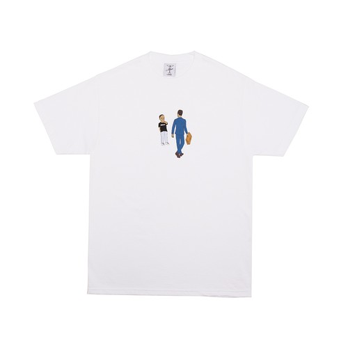 ALLTIMERS / LAUGHING AT OPPS TEE -WHITE-