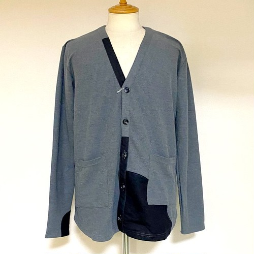 Mobile Cleaner Cardigan Gray × Black