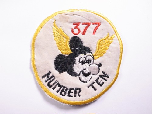 """OLD PATCH""""NUMBER TEN 377"""""""