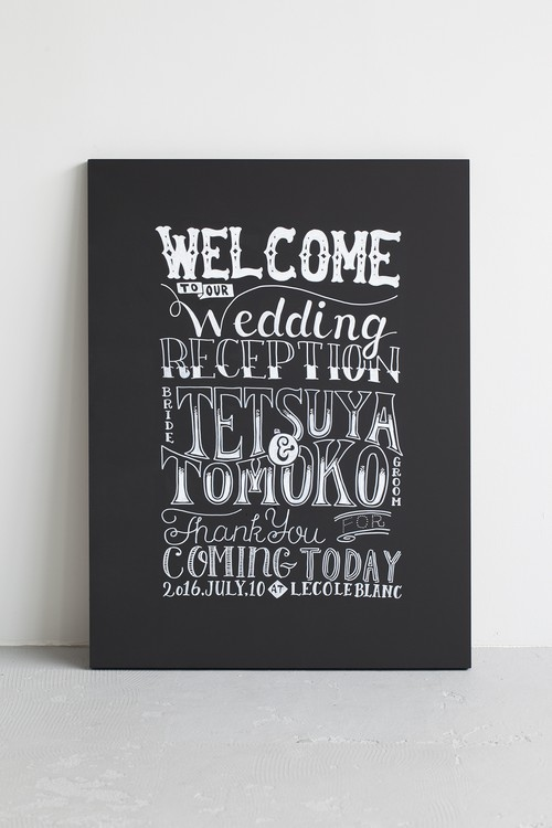 WELCOME BOARD #1 TYPO