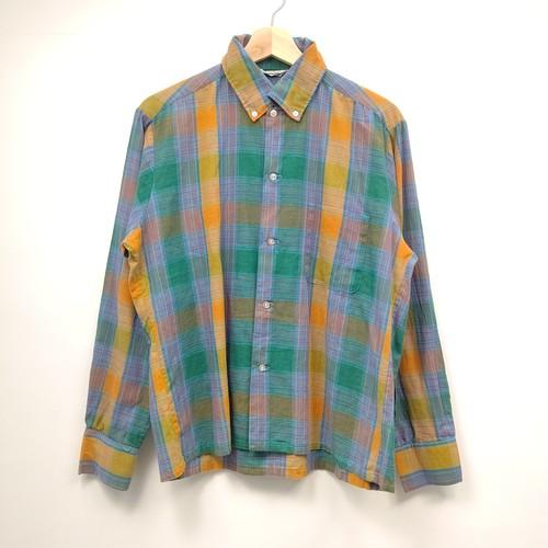 チェックボックスシャツ