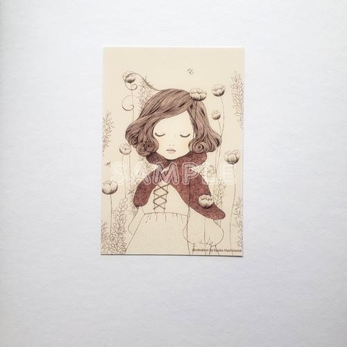 ポストカード「赤ずきん」