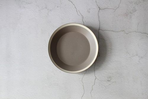 木村硝子×イイホシユミコ【Yumiko Iihoshi porcelain】 23cmプレート dishes 230 plate (moss gray) /matte