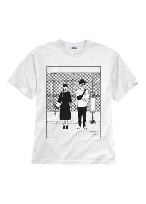 下北沢にて'15Tシャツ(白)