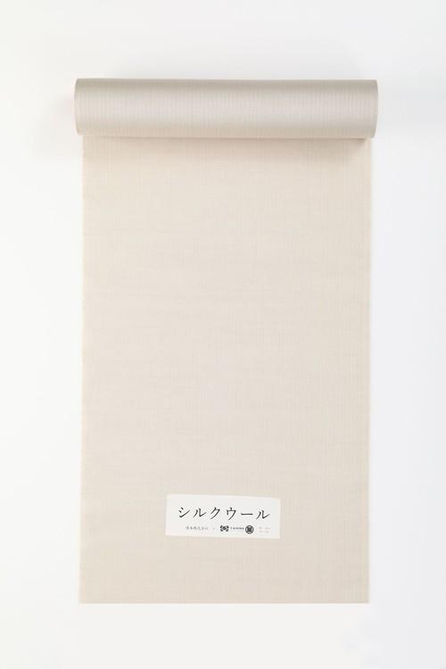 きもの / Silk-wool / Stripe Herringbone / Beige(With tailoring)